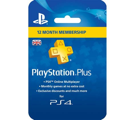 SONY PlayStation Plus 12 Month Subscription Deals  PC World