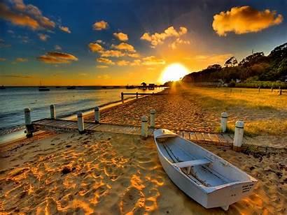 Sunset Screensavers Beach Desktop Pc Wallpapers Latest