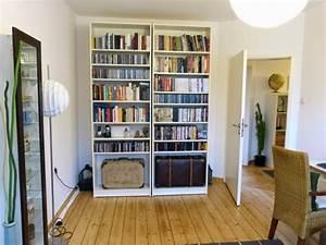 Presentoir Livre Ikea : lit escamotable derri re une tag re billy bidouilles ikea ~ Teatrodelosmanantiales.com Idées de Décoration