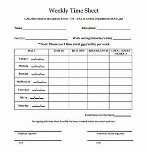 timecard forms 28 weekly timesheet templates free sample example