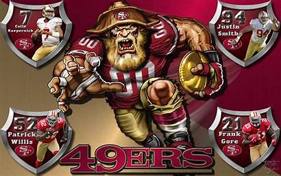 49ers Francisco San Crazy Players Shield Backgrounds