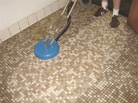Unique Wonderful Way Cleaning Old Tile Floors Bathroom
