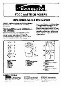 Kenmore 06011  2 Hp Food Waste Disposer Power