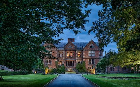 spectacular country house wedding venue  cheshire