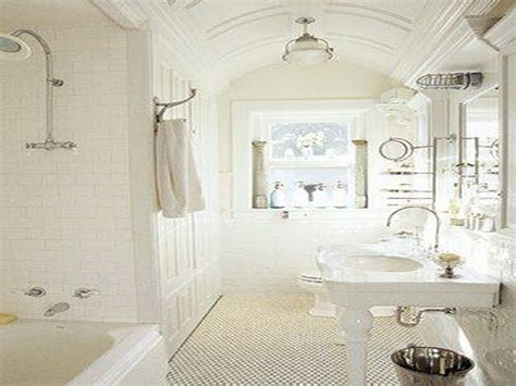 White French Country Bathroom Designs