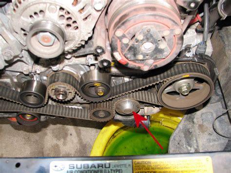 Subaru Legacy Timing Belt by 1995 Subaru Legacy Outback Timing Belt And Water