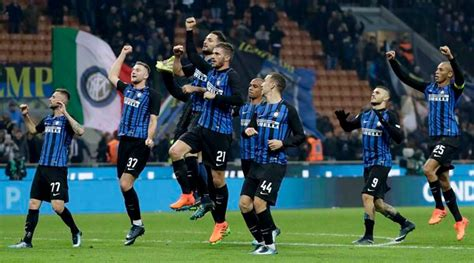 Inter Milan move second in table after win over Atalanta ...