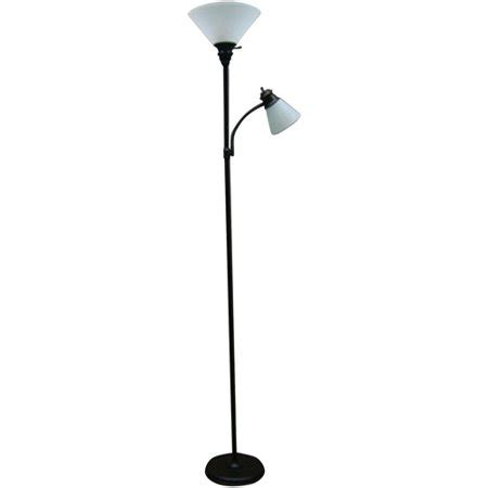 Walmart Reading Light mainstays rubbed bronze combo floor l with reading