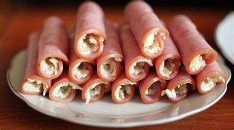 recette de cuisine rapide et facile un apéritif gourmand avec mes roulés de jambon au