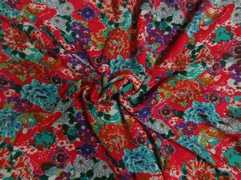 botanical print fabric botanical floral print fabric cotton one yard by indianstores