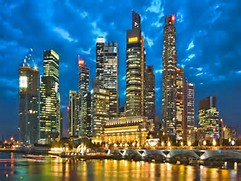 Image result for singapore skyline