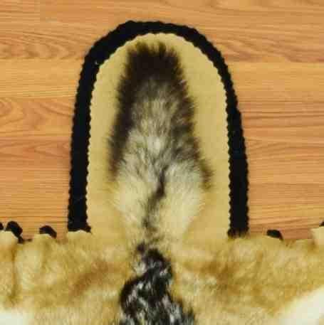 Black Backed Jackal Skin Rug  Sale Sw