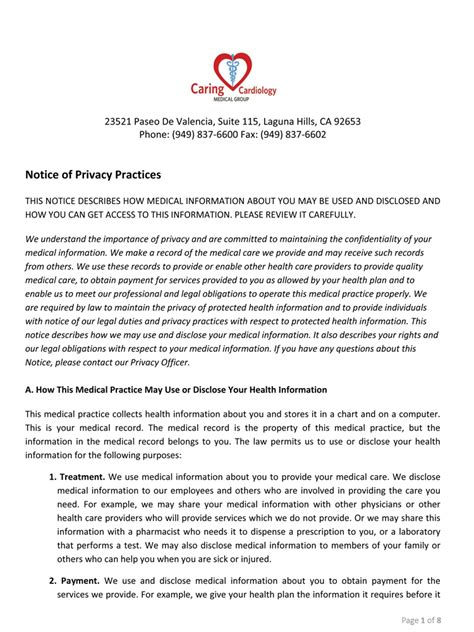hipaa privacy policy