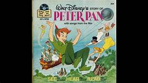 Peter Pan Read Along Book and Record - YouTube