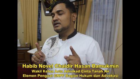 Berita Terbaru Habib Novel Chaidir Hasan Bamukmin Akhirnya