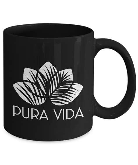 Pura vida surf shop boutique kids cup unicorn magic 12oz. Pura Vida Yoga coffee black mug ; Lotus Flower Souvenir Costa Rica WITH THIS LOTUS FLOWER MUG ...