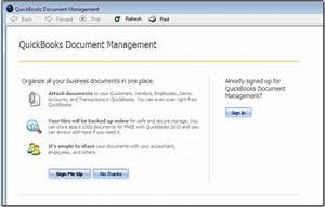 quickbooks 2010 document management practical quickbooks With intuit document management