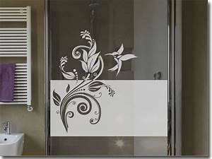 Folie Für Duschkabine : sichtschutz ornament kolibri fensteraufkleber ~ Markanthonyermac.com Haus und Dekorationen