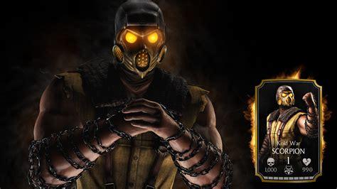 Mortal Kombat Scorpion Wallpapers ·①