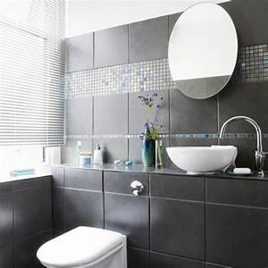 Badezimmer Ideen Fliesen : 33 dunkle badezimmer design ideen ~ Michelbontemps.com Haus und Dekorationen