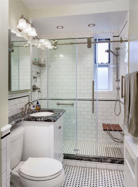 Bathroom Remodeling New York Studio D Interiors Classic New York City Bathroom Renovation