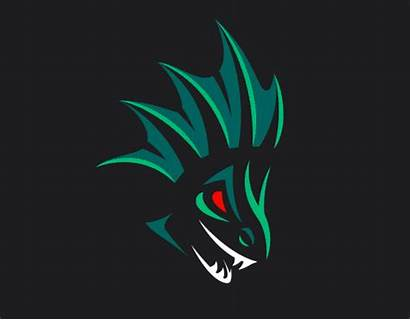 Leviathan Gaming Unused Behance Logos Copyright Client