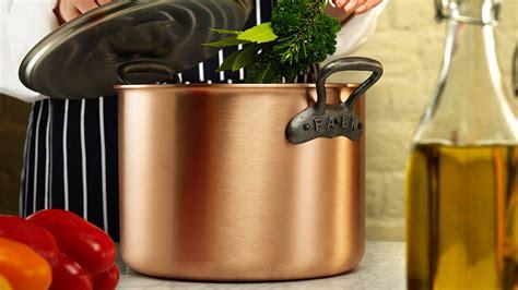 falk copper cookware classical range