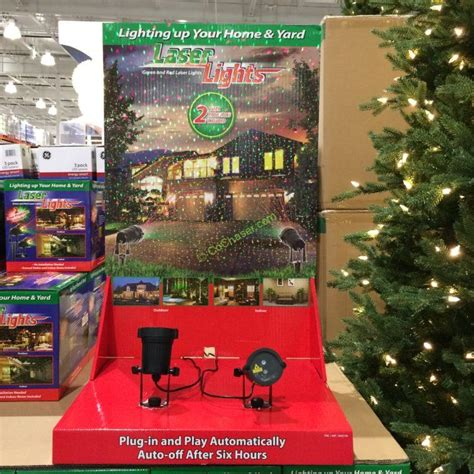 red green laser projector 2 pack costcochaser
