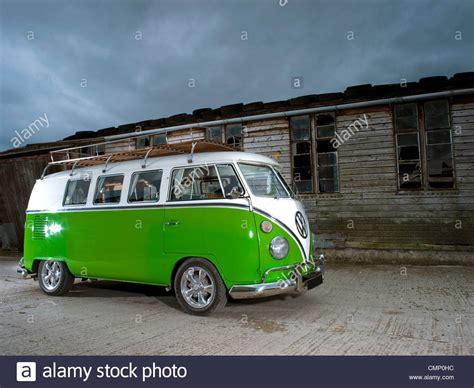 green volkswagen van green vw volkswagen screen cer van bus lowered