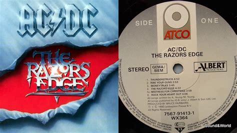 acdc  razors edge vinyl lp album  youtube
