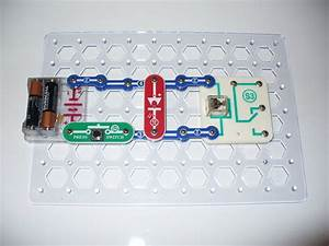 Snap Circuits Science  The Electronic Relay