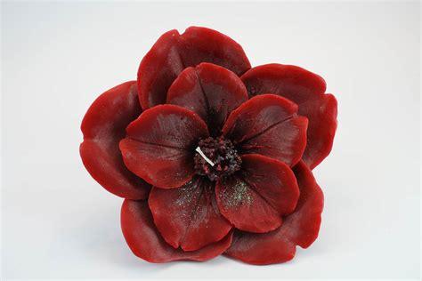 Candele A Fiore by Candela Fior Di Ciliegio Profumata Rosa Candele Shop