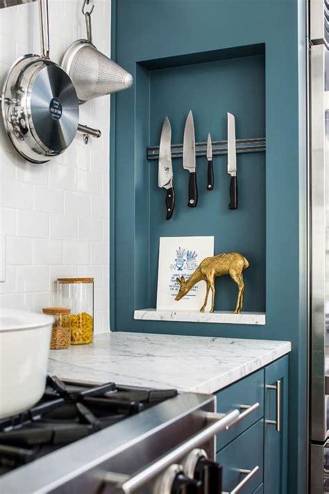 wall mount magnetic knife rack   stove