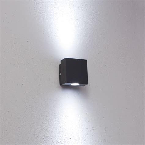 applique led esterno illuminazione professionale faro da parete applique led