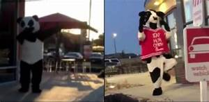 These Fast Food Mascots Stay Lit On The Job! | New Video