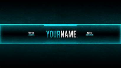 Banner Gaming Channel Banners Template Templates Background