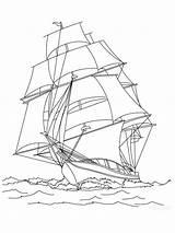 Sailboat Segelboot sketch template