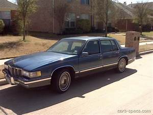 1993 Cadillac Deville Sedan Specifications  Pictures  Prices