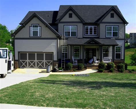 Exterior House Paint Color Ideas, Craftsman Exterior House