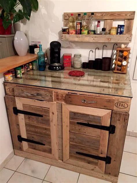 pallet kitchen island useful recycled wood pallet kitchen ideas pallets designs 1406