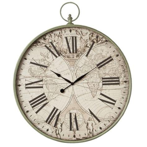 pendule de cuisine murale horloge murale chiffre immense en forme de montre ancienne