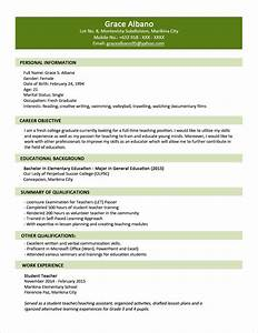 Examples Resumes Naukri Resume Format Sample For