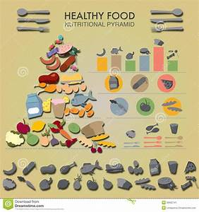Food Intake Control Vector Diagram Illustration