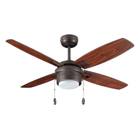 oil rubbed bronze ceiling fan troposair sprite 42 in oil rubbed bronze ceiling fan with