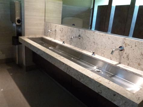 double trough sink vanity white granite and steel undermount double trough sink