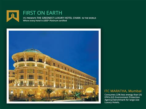 green cuisine itc hotels the greenest luxury hotel chain in the