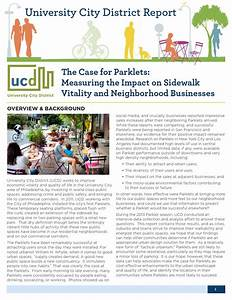 The Case for Parklets by University City District - Issuu