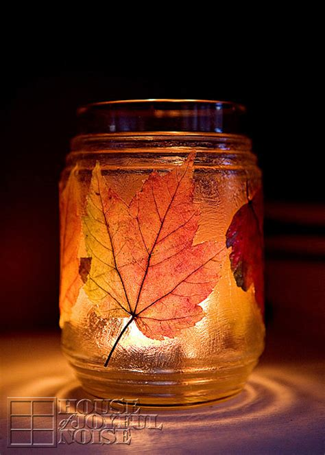 Glass Candle Holders Diy Perserving Jar Satine Paint by 14 Simple And Useful Diy Thanksgiving Jar Crafts Shelterness