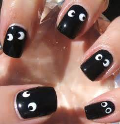 Easy nail art halloween designs