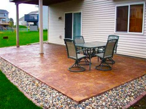 patio design ideas on a budget outdoor also concrete 2017
